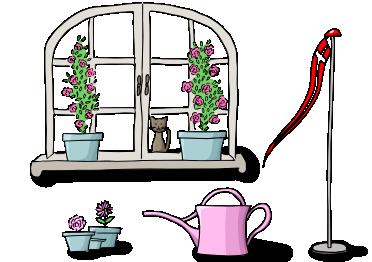 balkon und garten jetzt bei uns kleiner. Black Bedroom Furniture Sets. Home Design Ideas