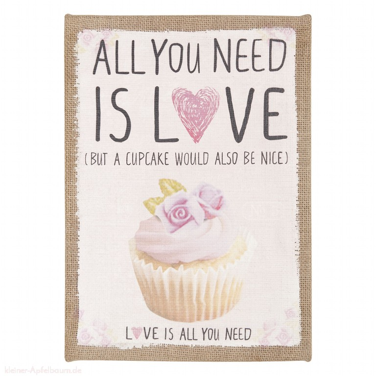 Bild All you need is love (but a cupcake ...)