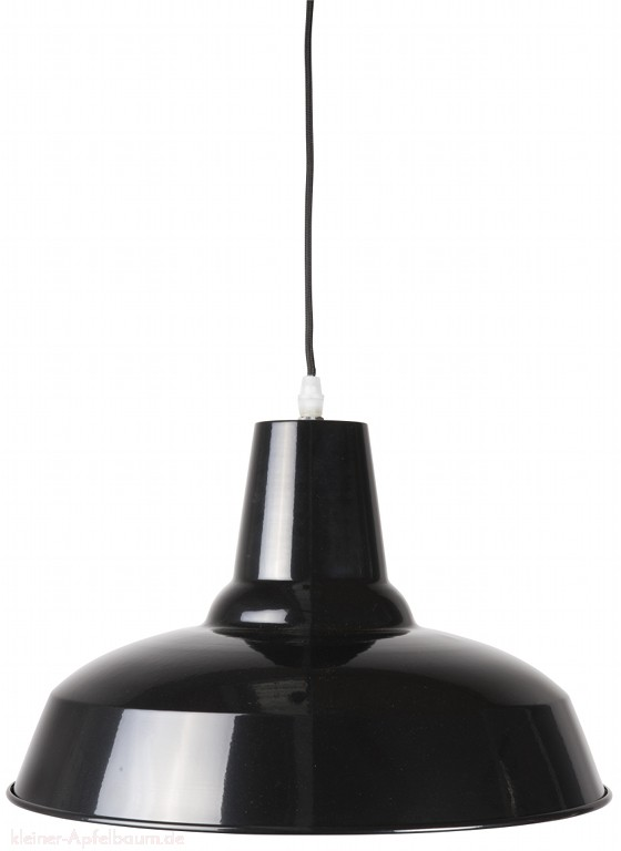 Ib Laursen Metall Lampe Brooklyn schwarz