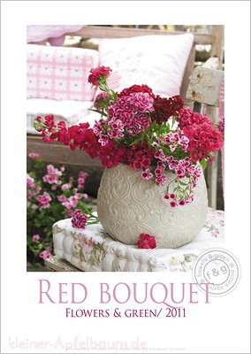 Poster Red Bouquet
