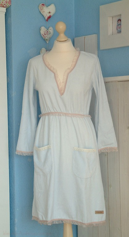 My Cinnamon Girl Nora Dress hellblau -SALE-