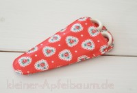 Nähschere im Etui Sweetheart Red
