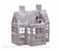 Chic Antique Zink Laternenhaus Antik
