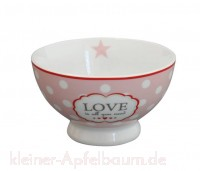 Krasilnikoff Happy Bowl Schale LOVE