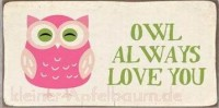 Magnet Owl always love you