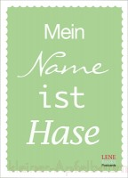 Lenebooks Postkarte Mein Name ist Hase