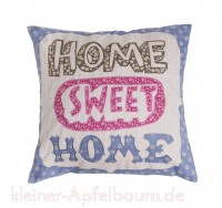 Kissenhülle Home Sweet Home -SALE-