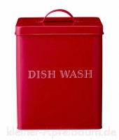 Bloomingville Metalldose Dish Wash rot -SALE-